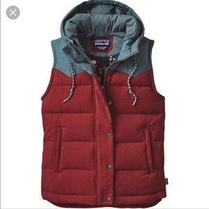 Patagonia Bivy Hooded Down Vest (Small)